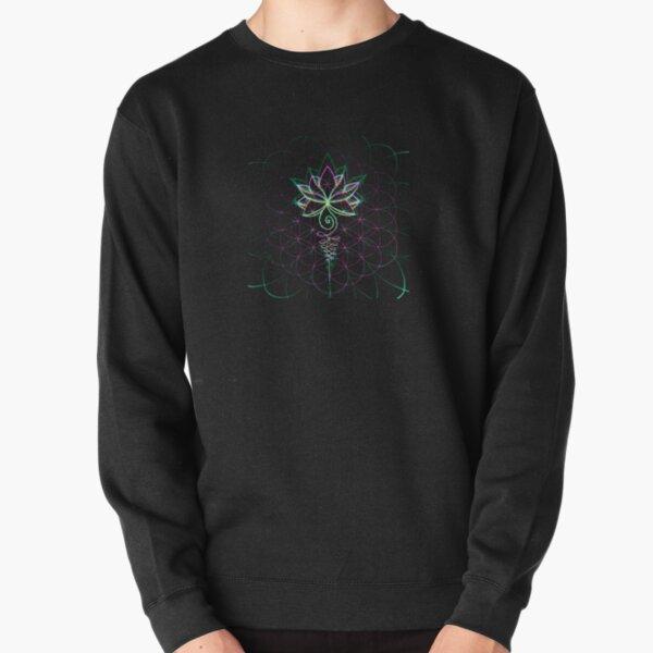 Lotus Flower of Life Pullover Sweatshirt