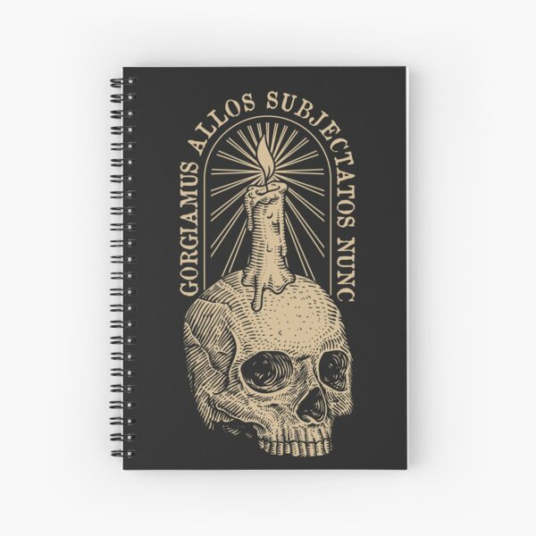 Addams Motto Spiral Notebook