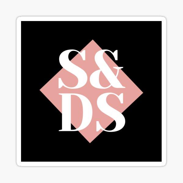 S&DS Logo - Dark Sticker