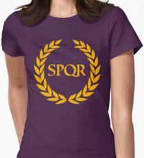Camp Jupiter - SPQR Womens Fitted T-Shirt