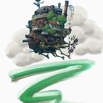 Howl's Moving Castle de EdenIsRising