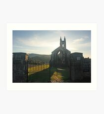 Dunlewey Church Art Print