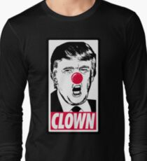 Trump - Clown Long Sleeve T-Shirt
