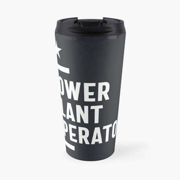 Power Plant Operator Job Title Gift Travel Mug