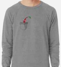 Red Pikmin in your Pocket! Lightweight Sweatshirt