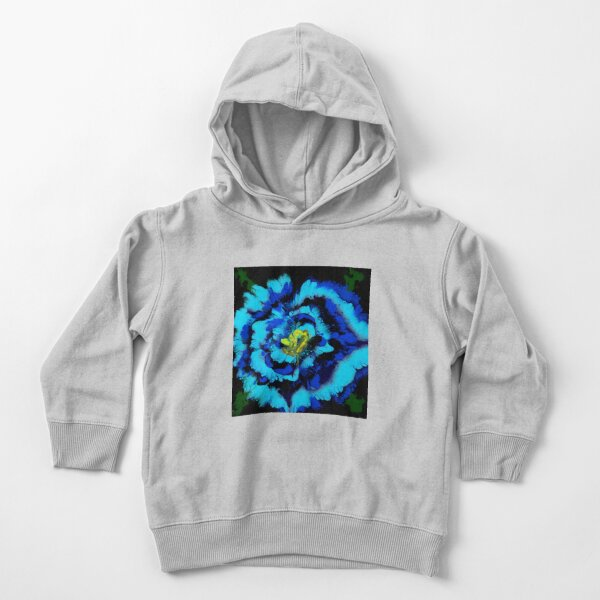 Floral pour painting Toddler Pullover Hoodie