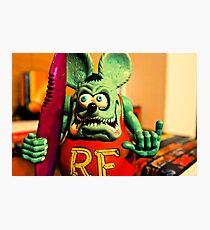 Rat Fink Photographic Print