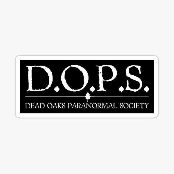 DOPS Sticker
