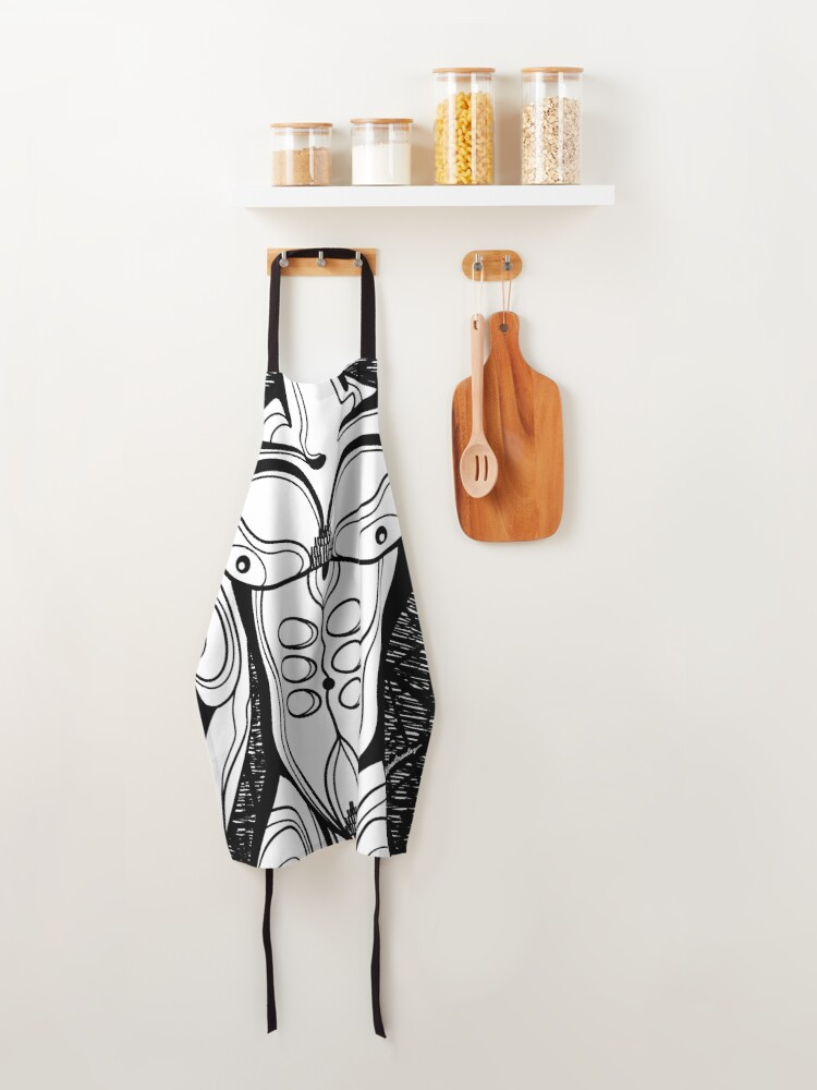 Alternate view of Abstract Body 5 Apron