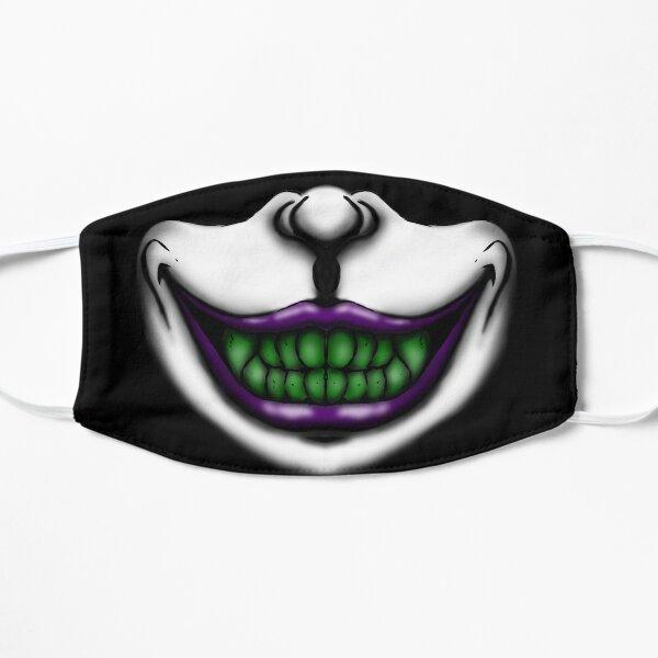 Sourire de plaisanterie Masque sans plis