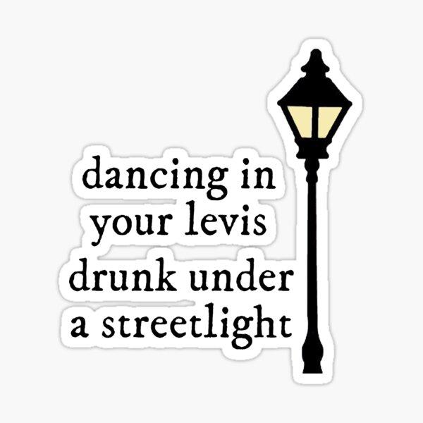 cardigan lyrics Sticker