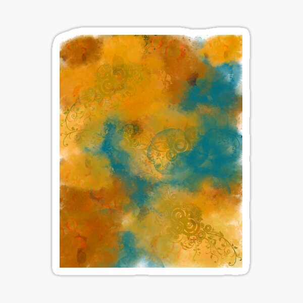 Abstract Art Design Sticker