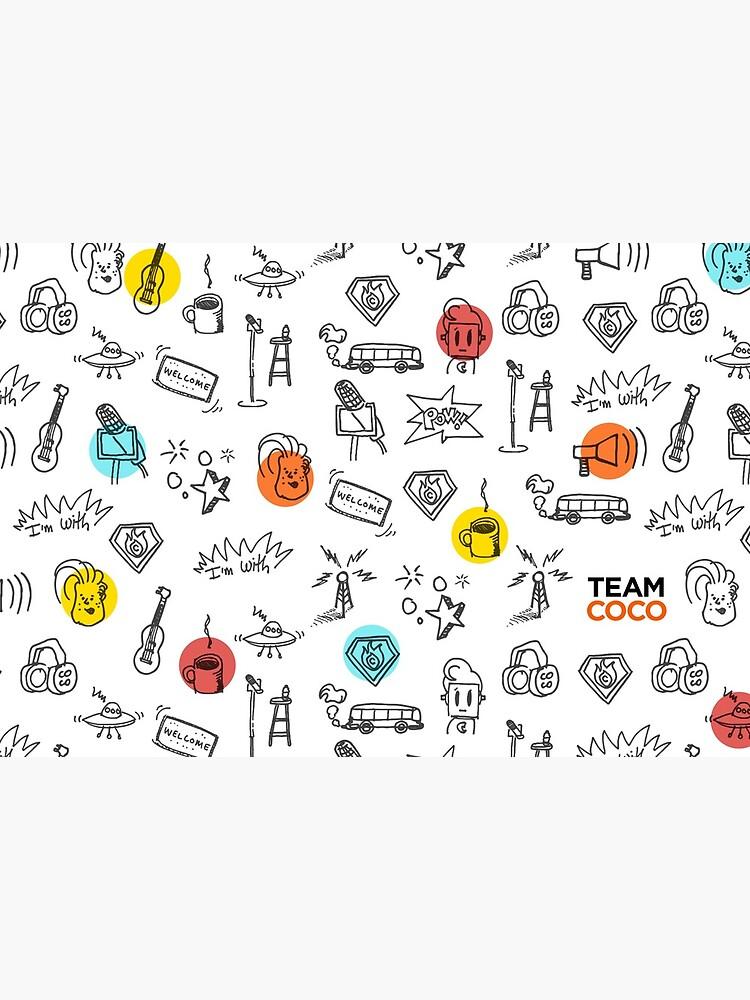 Team Coco Doodles by teamcoco