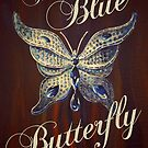 The Blue Butterfly by Sarah  Mac Illustration
