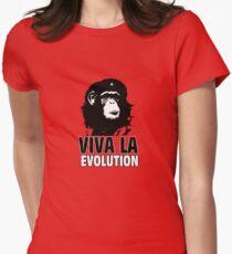 VIVA LA EVOLUTION Women's Fitted T-Shirt