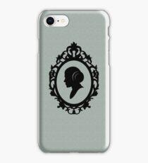 Portrait Of A Princess iPhone Case/Skin