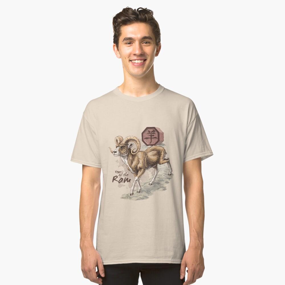Chinese Zodiac - the Ram Classic T-Shirt