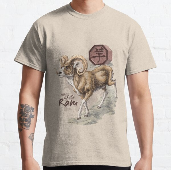 Chinese Zodiac - the Ram Classic T-Shirt