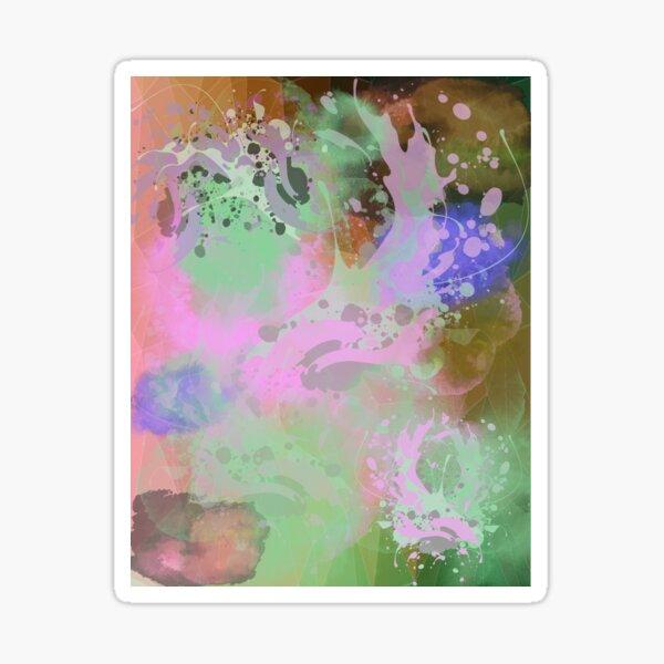 Abstract Art Sticker