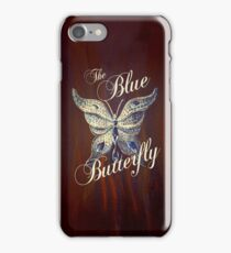 The Blue Butterfly iPhone Case/Skin