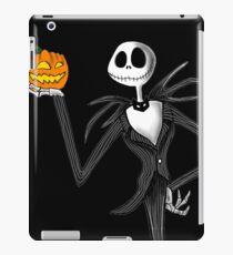 Jack Skellington and his pumpkin iPad Case/Skin