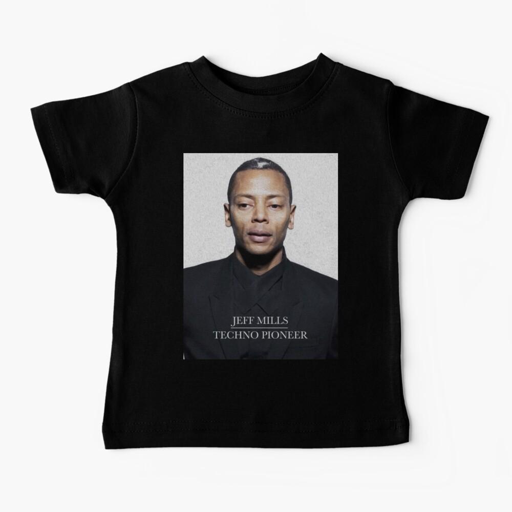 American Techno pioneer, digital oil painting Baby T-Shirt