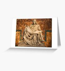 La Pietà by Michelangelo Greeting Card