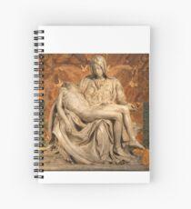 La Pietà by Michelangelo Spiral Notebook