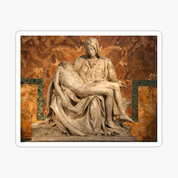 La Pietà by Michelangelo Sticker