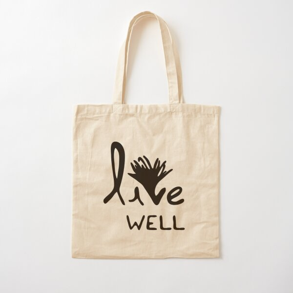 live well Cotton Tote Bag