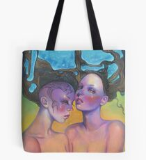 Water Maidens  Tote Bag