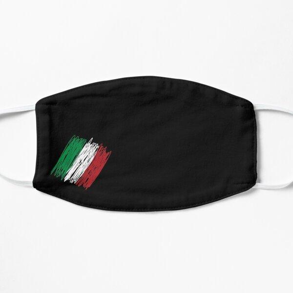 Masque facial drapeau italien Masque sans plis