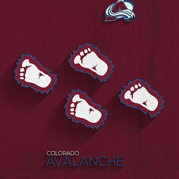 Colorado Avalanche Alternate Design by SomebodyApparel