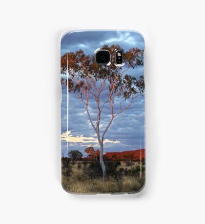 Sunset Batton Hill,North Simpson Desert Samsung Galaxy Case/Skin