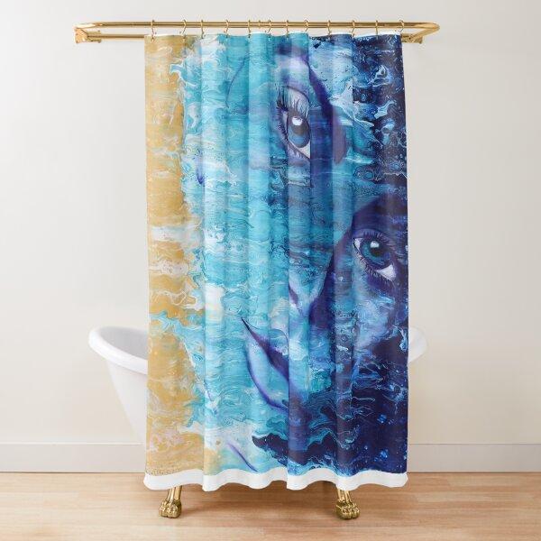 The Sea Inside II Shower Curtain