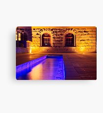 The Barcode Stream Canvas Print