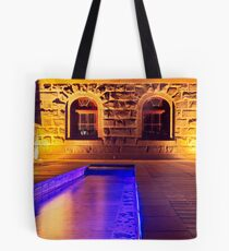 The Barcode Stream Tote Bag