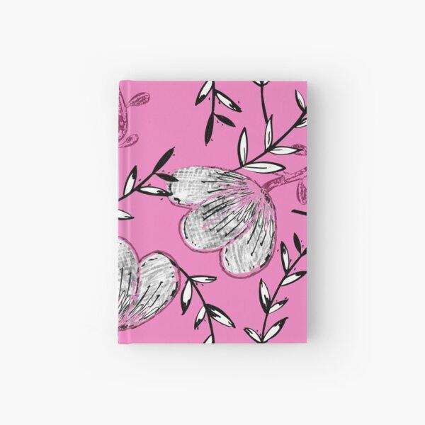 Black Pink Ink Hardcover Journal