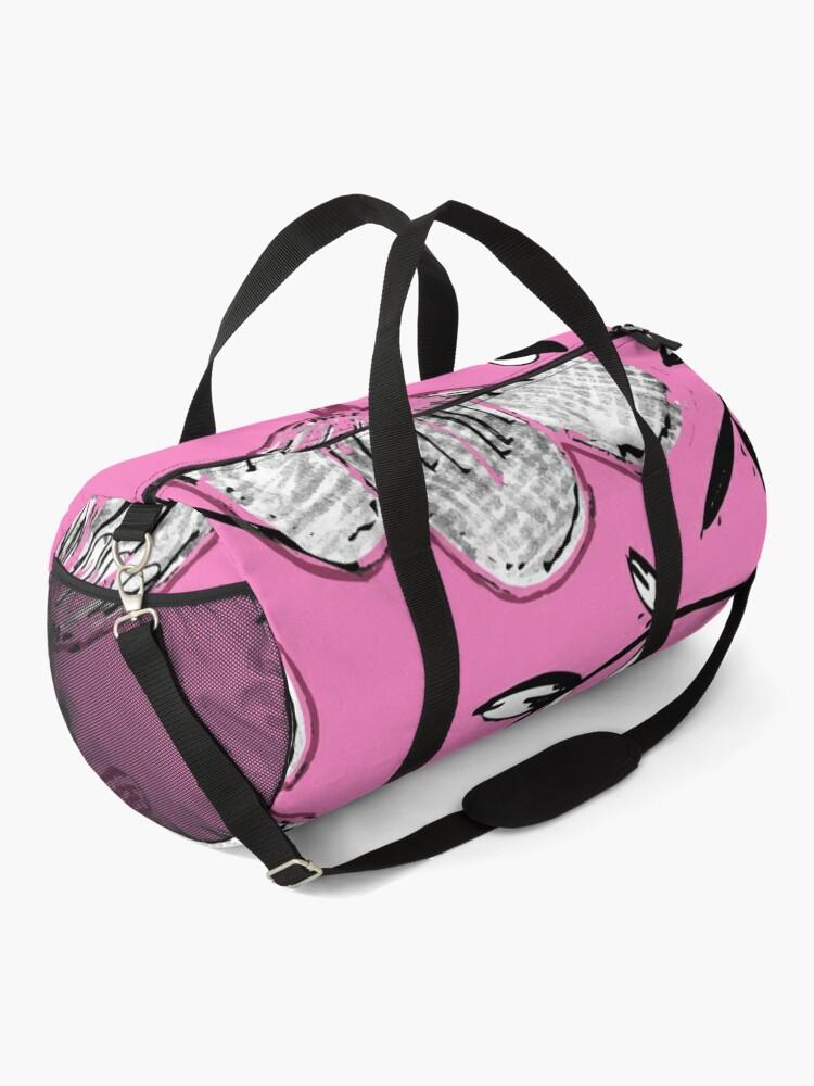 Alternate view of Black Pink Ink Duffle Bag