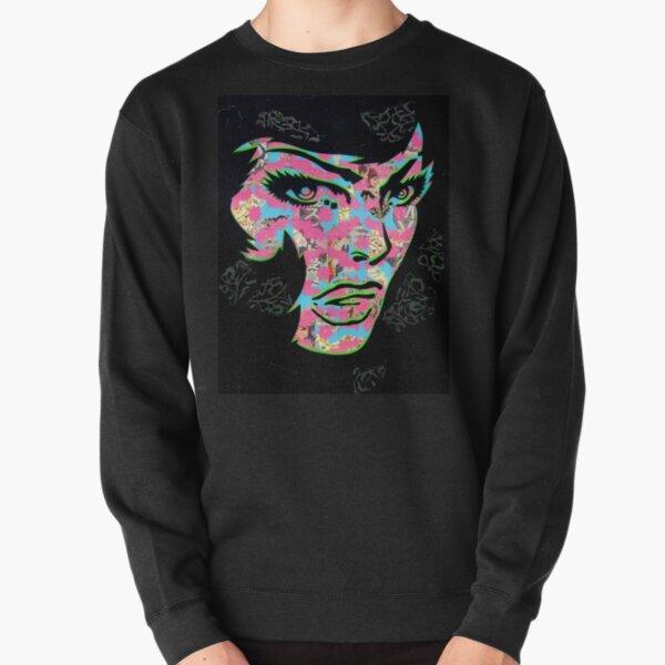 Pierced Pullover Sweatshirt