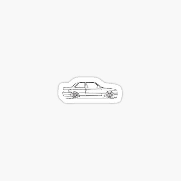 Autocollant E30 Sticker