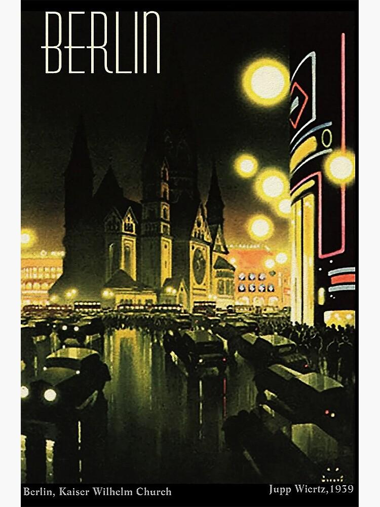Kaiser Wilhelm Church ...Berlin at night, by Jupp Wiertz by edsimoneit