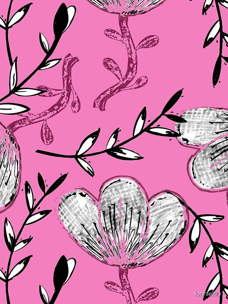 Black Pink Ink by lonnielou