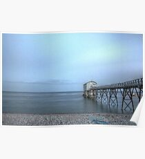 Selsey Lifeboat Pier HDR Poster