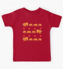 Hungry bear family Kids Clothes