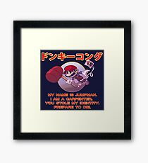 JUMPMAN RETURNS (MARIO WATCH OUT!) Framed Print
