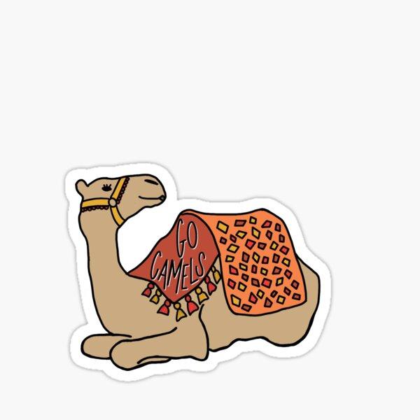 Go Camels Sticker