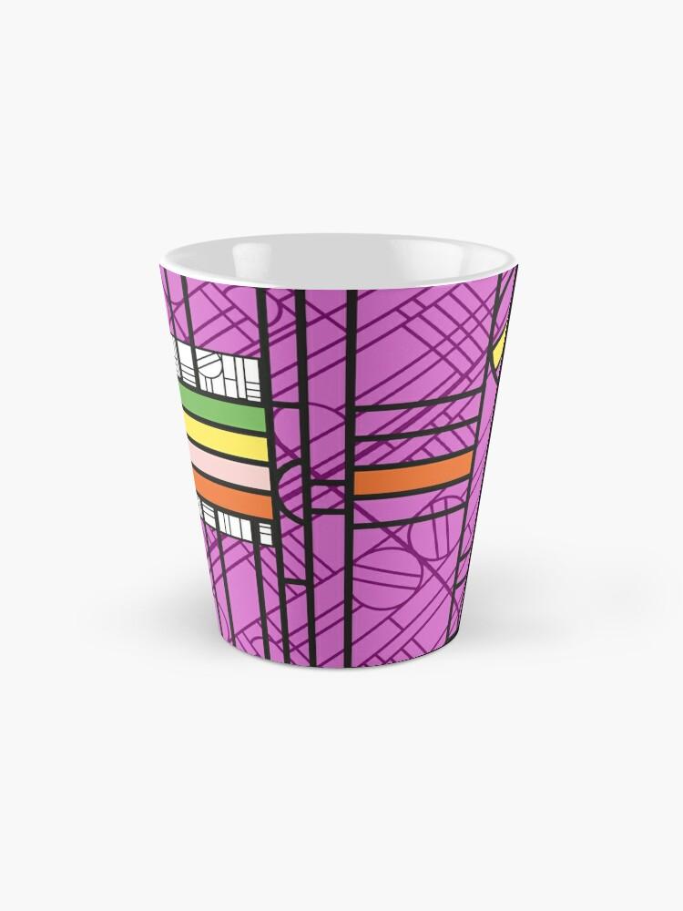Alternate view of Circular Blockwork Mug