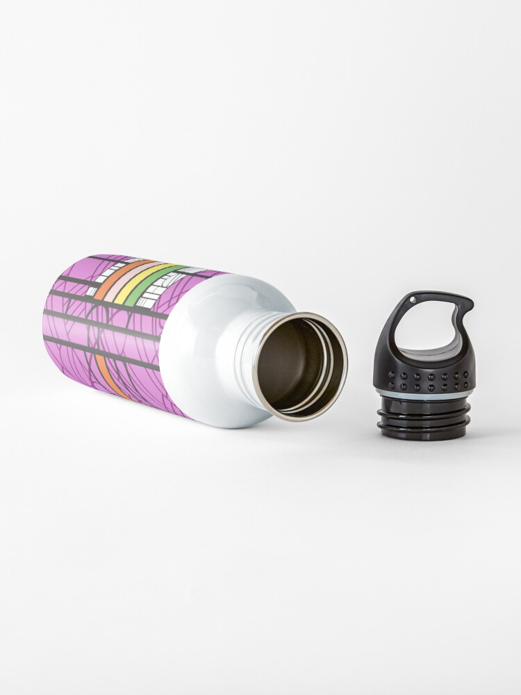 Alternate view of Circular Blockwork Water Bottle