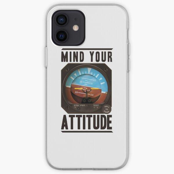 Cuidado con tu actitud Funda blanda para iPhone